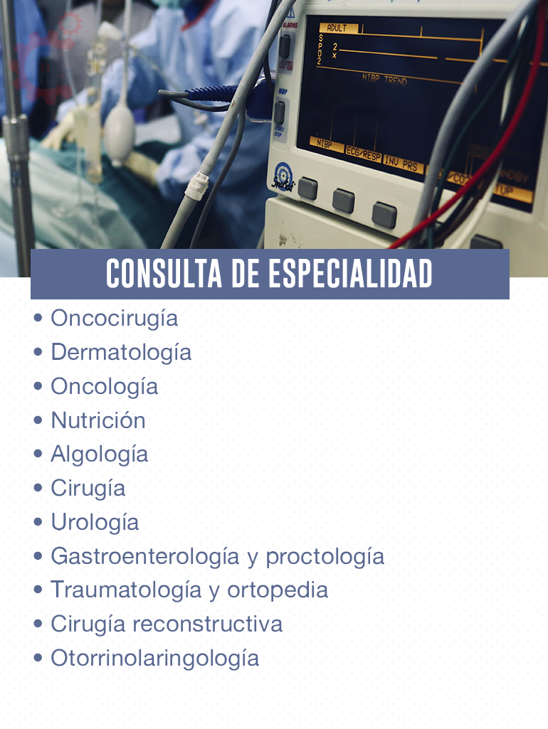 consulta de especialidad 2